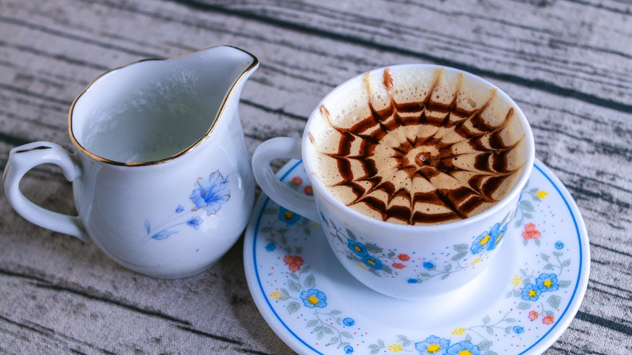 Homemade Cappuccino Without Machine  Cappuccino Recipe  How To Make  Cappuccino At Home