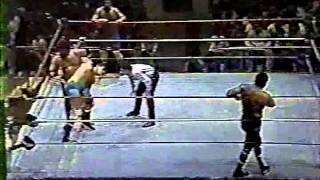 Rougeau Brothers vs Barry Horowitz and Steve Lombardi