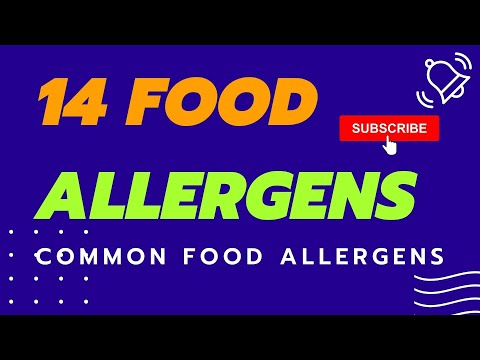 The 14 Allergens Chefs Need To Know