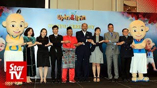 Stakes are high for Upin and Ipin to conquer China