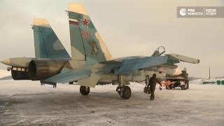 Возвращение палубной авиации с  Адмирала Кузнецова