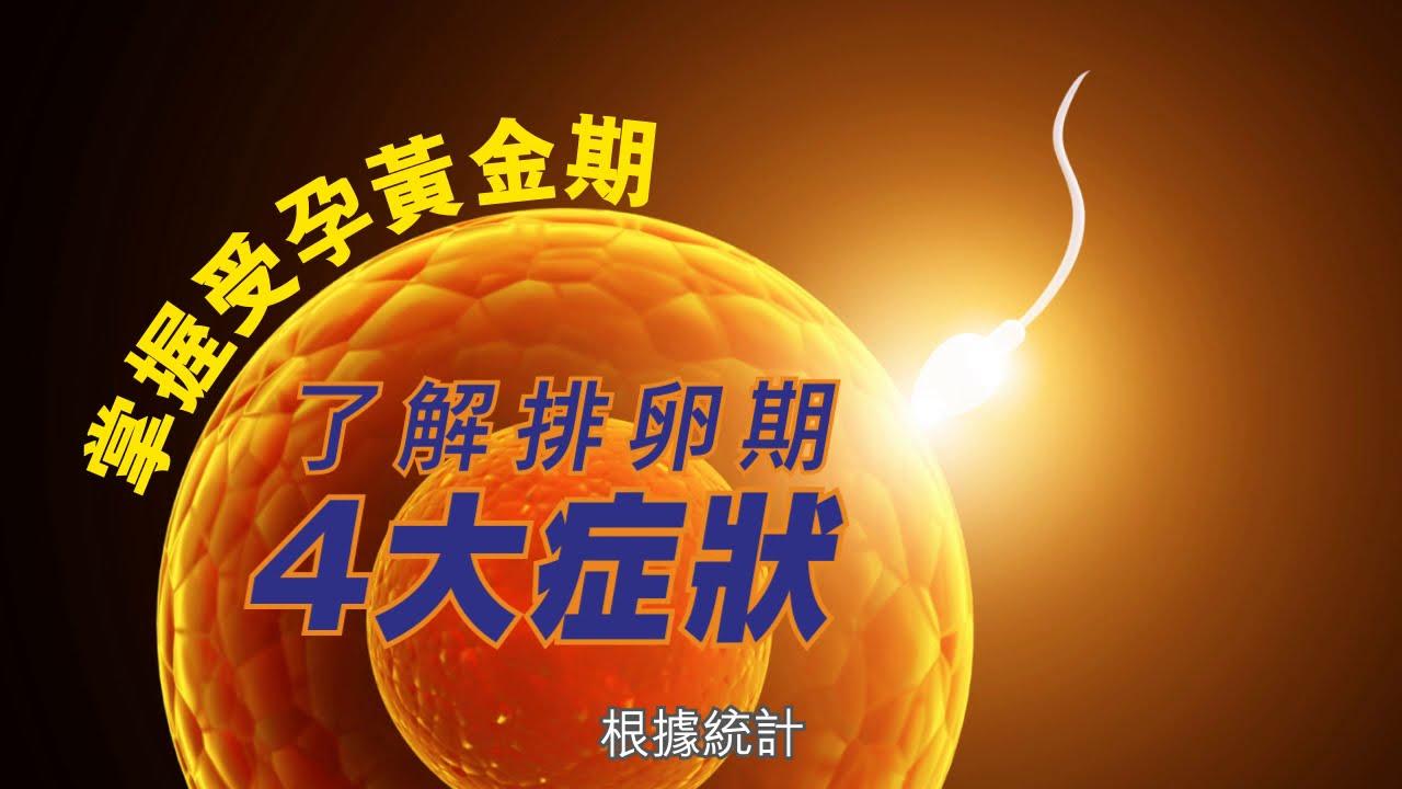 【養生教室vol.7】掌握受孕黃金期  了解排卵期4大症狀