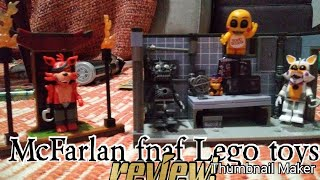 The McFarlan™ Lego type fnaf toys review!!!