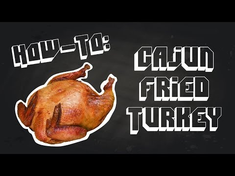 How To Fry A Turkey - Cajun Style