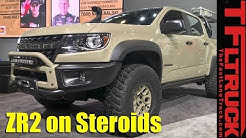 Could This Be the Ultimate Chevy Colorado ZR2? Concept by AEV
