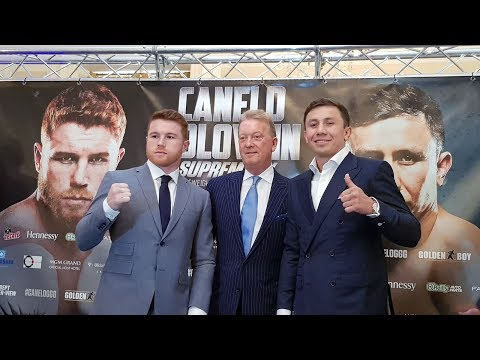 Canelo Alvarez V Gennady 'GGG' Golovkin - Full London press conference