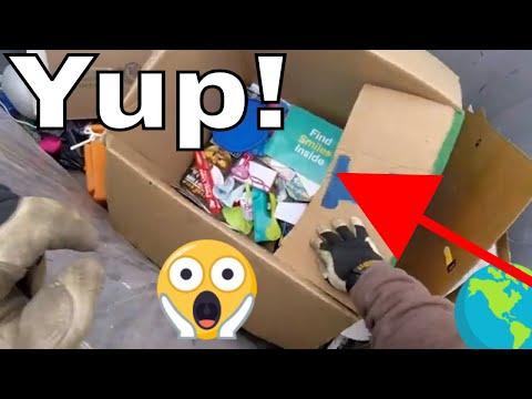 Trash Picking Dumpster Diving Action
