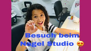 NAGEL STUDIO BESUCH VLOG 💝MACH MIR FINGER NÄGEL 😘#TEAMSABRIN