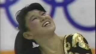 伊藤みどり 1988 五輪 SP +インタビュー 日本語
