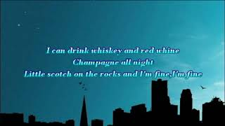 Tequila lyric - Dan + Shay (R3HAB REMIX)