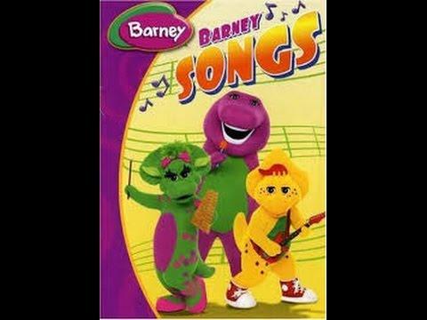 Barney Barneys Songs Dvd Menu Youtube