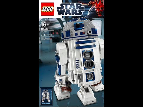 How To Build 1 Of 3 Lego Star Wars 10225 R2d2 Instructions Youtube