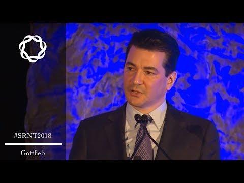 Scott Gottlieb, FDA Commissioner, Policy Theme Lecture, SRNT 2018