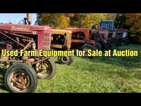 Used Farm Equipment For Sale At Auction