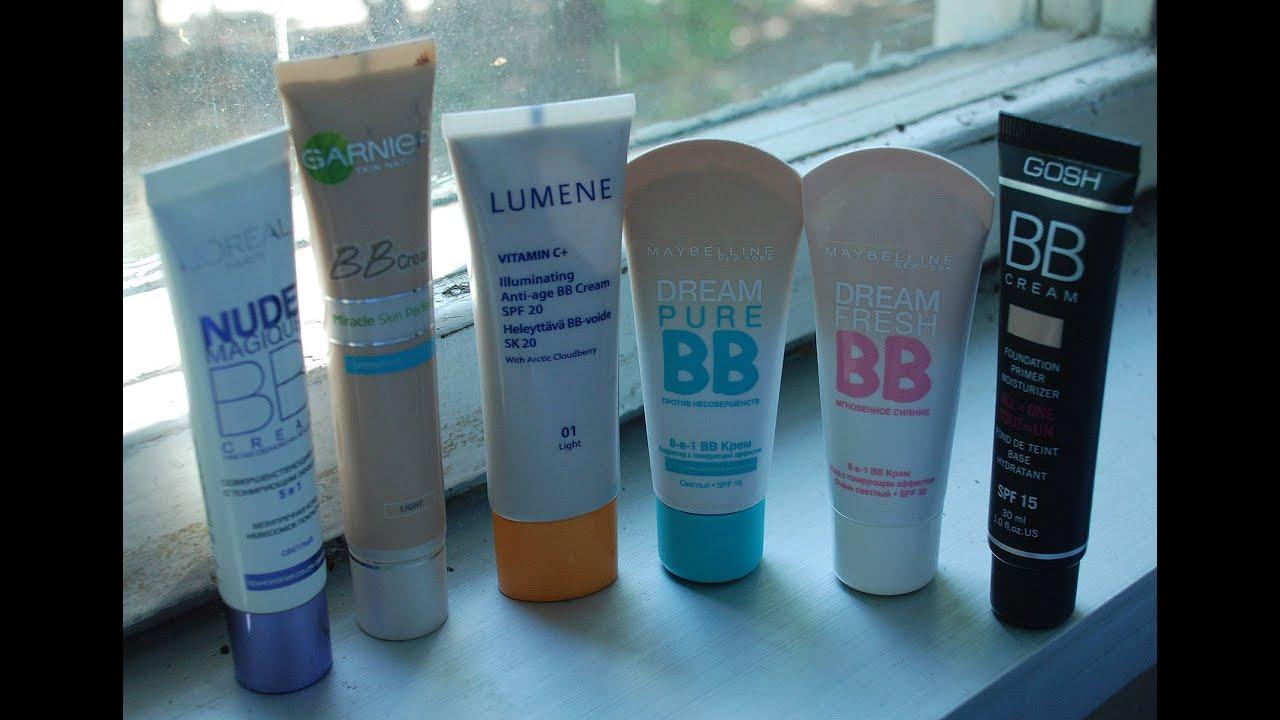 Обзор 6 BB-cream