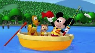 Клуб Микки Мауса - Сезон 1 серия 05 - Микки идет на рыбалку |мультфильм Disney