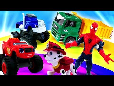 Щенячий патруль, Супергерои и машинки лучшие мультики! Все серии подряд - Мультики для мальчиков