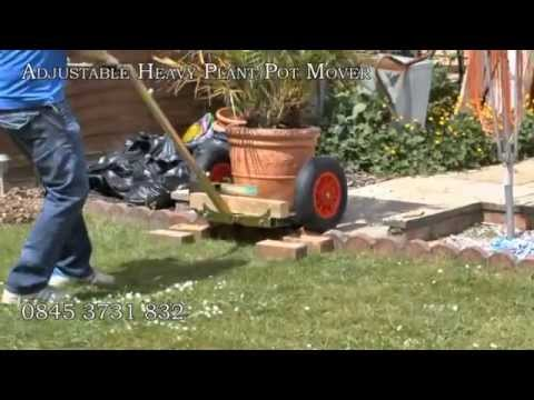 Plant Pot Mover Trolley