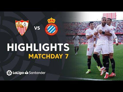 Sevilla Espanyol Goals And Highlights