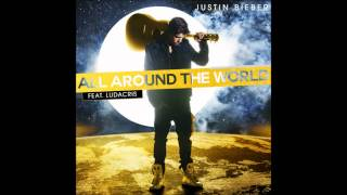 Justin Bieber - All Around The World Karaoke / Instrumental with lyrics