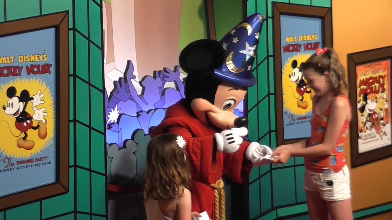 Mickey Mouse Meet And Greet At Hollywood Studios Walt