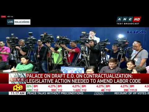 WATCH: Palace briefing / Bongbong Marcos speaks to reporters as recount begins | 2 April 2018