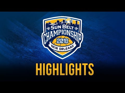 2018 Sun Belt Conference Women's Championship Game Highlights - Little Rock vs Texas State