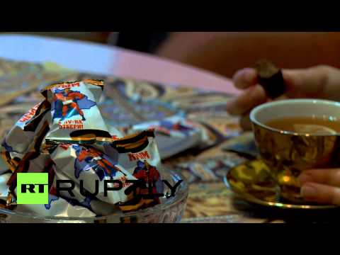 Russia: 'Crimea - Take me if you can!' chocolate enjoyed in Novosibirsk