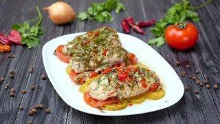 Куриные грудки, запеченные с овощами - Рецепты от Со Вкусом