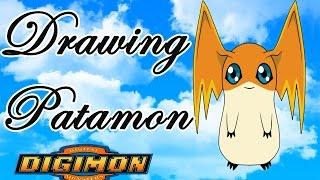 Drawing Patamon