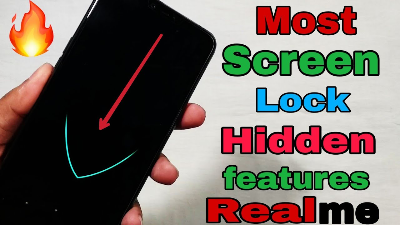 [Hindi] Most important All Realme Lock Screen Hidden Features | Realme Most  useful Tips and Tricks