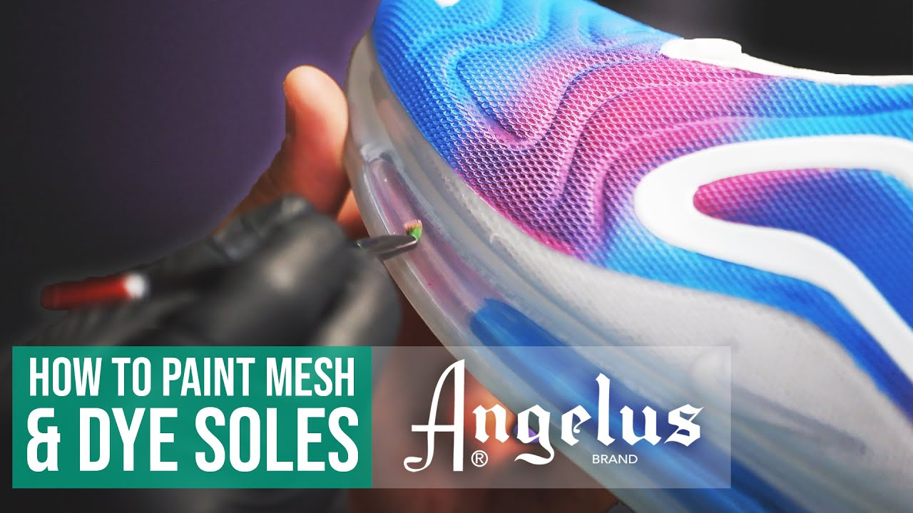 Customizing Air Max 720 with Angelus Paints & Dyes | Angelus Custom Shoes