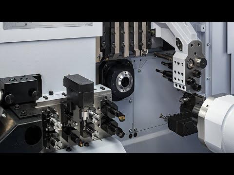 Star GB - SR32JII Type A CNC Sliding Head Lathe Demonstration