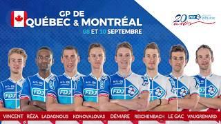 Composition de l'équipe FDJ pour les GP de Québec et Montréal