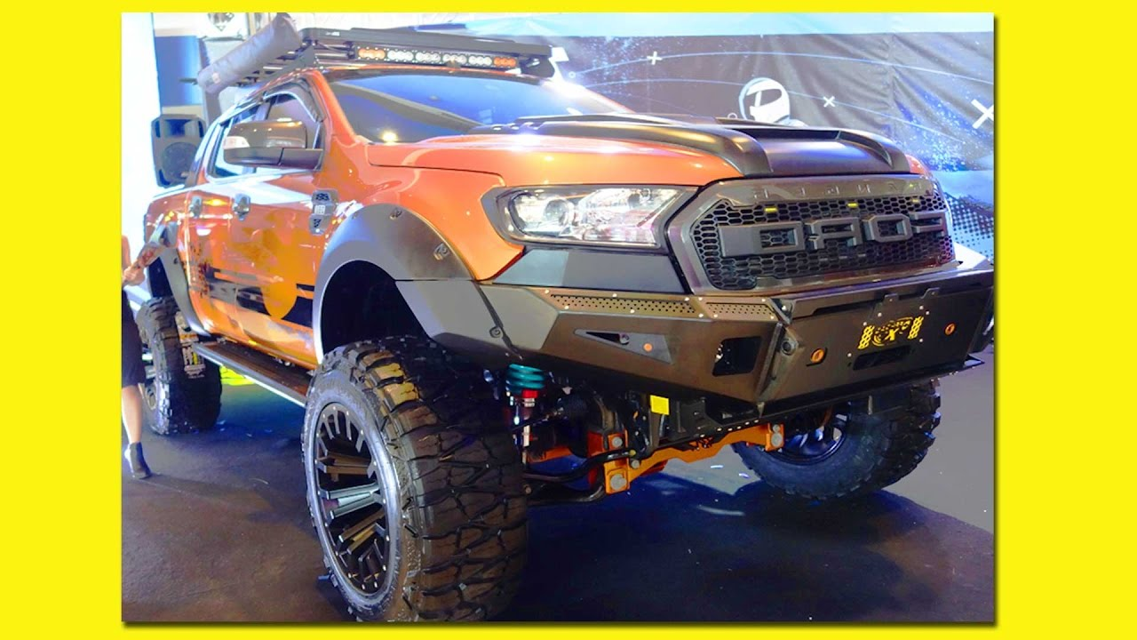 Off Road Ford Ranger Wild Trak Toyota FJ MIAS Manila International Auto Show 2017 Philippines