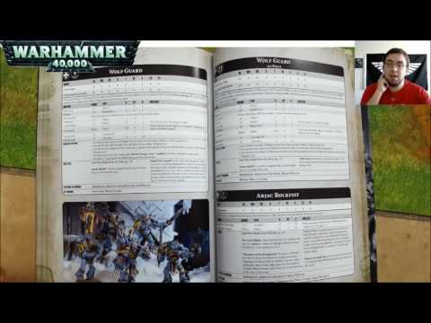 Warhammer 40k 8th Edition Imperium 1 Index Review Part 2 (Timestamped)