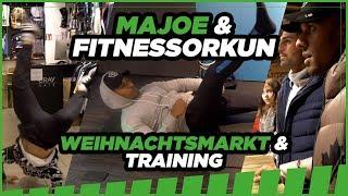 Majoe und Fitness Orkun I Training und  Weihnachtsmarkt I