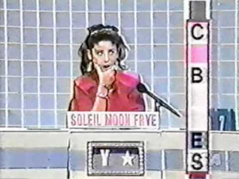 Soleil Moon Frye on Scrabble 1988