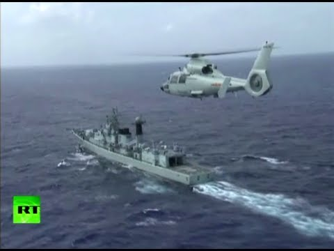 Video: Chinese naval fleet returns home after training in Pacific
