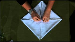 Rose Fold - Table Napkin Fold