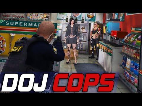 Dept. of Justice Cops #551 - One Step Closer