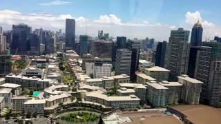 Manila Hellicopter View: Bonifacio Global City BGC