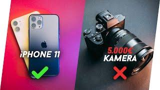 5.000€ Kamera vs iPhone 11 😳 (Pro Max)! Review + Test [deutsch]