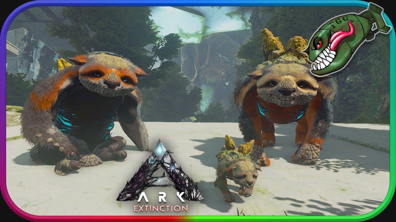 Ark: Survival Evolved | Starting on Extinction, Gacha Taming & Breeding #1  (Ark Extinction DLC)
