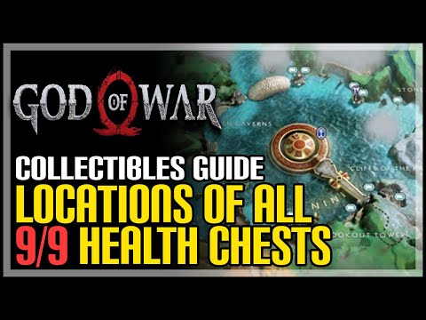 God Of War All Health Nornir Chest Locations (How To Max Out Health Pool)