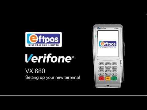 Verifone VX 680 & VX 690 - How to set up your new terminal   Eftpos NZ