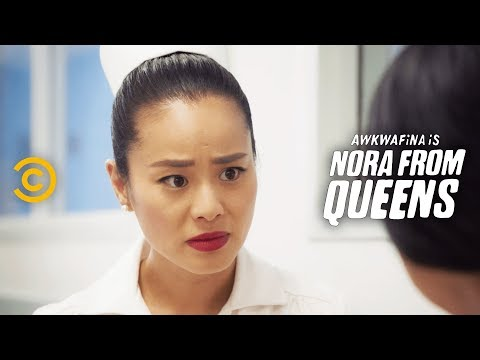 Doctor D**k Vs. Garbage D**k - Awkwafina Is Nora From Queens