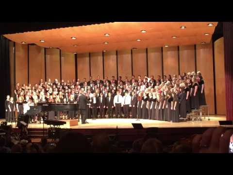 Lamentation of Jeremiah - Canyon County Honor Choir 2016