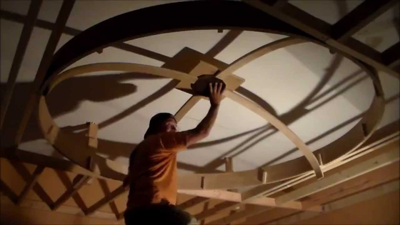 Dome Ceiling--- Building Framework--- Step 5 - YouTube