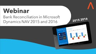 Webinar: Bank Reconciliation in Microsoft Dynamics NAV 2015 and 2016